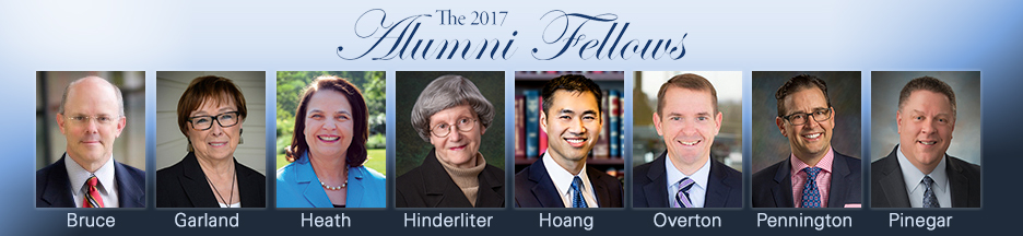 The 2017 Alumni Fellows