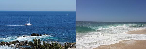 The Cabo beach