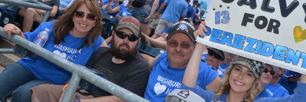 Washburn Day at the K