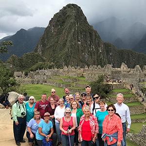 Alumni at Machu Picchu