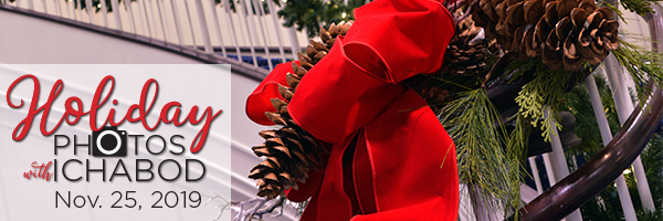Holiday Photos with Ichabod 2019