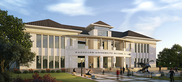 School of Law rendering of outside of building