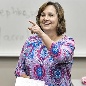 Lori Edwards teaching