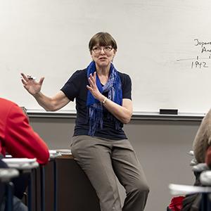 History Professor Rachel Goosen