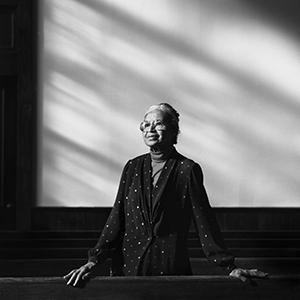 "Rosa Park's portrait in ""I Dream a World"""