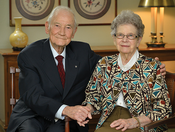 Gordon and Margaret Lowry