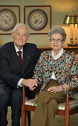 Gordon and Margaret Lowry
