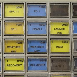 NASA Control Consoles