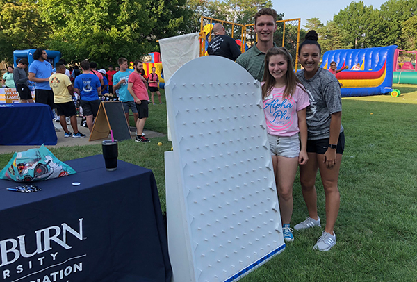 Ichabods Moving Forward students at WU Fest