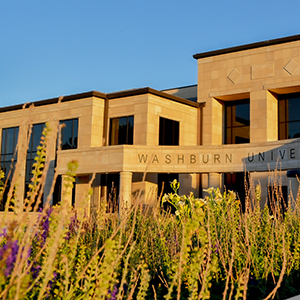 Washburn Welcome Center outdoors