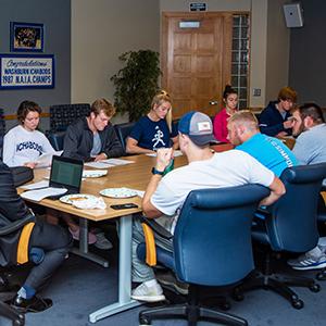 student athlete advisory committee meeting