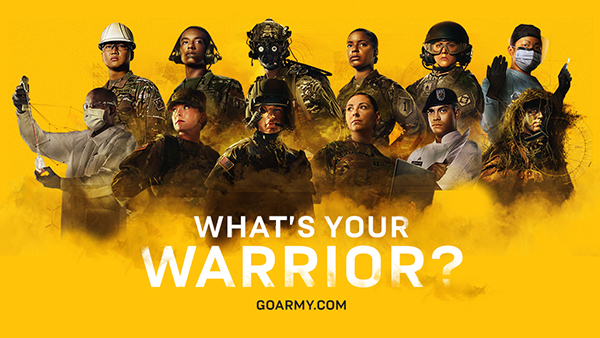 What's Your Warrior ad campaign