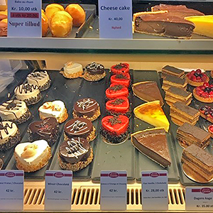 Pastries from Denmark