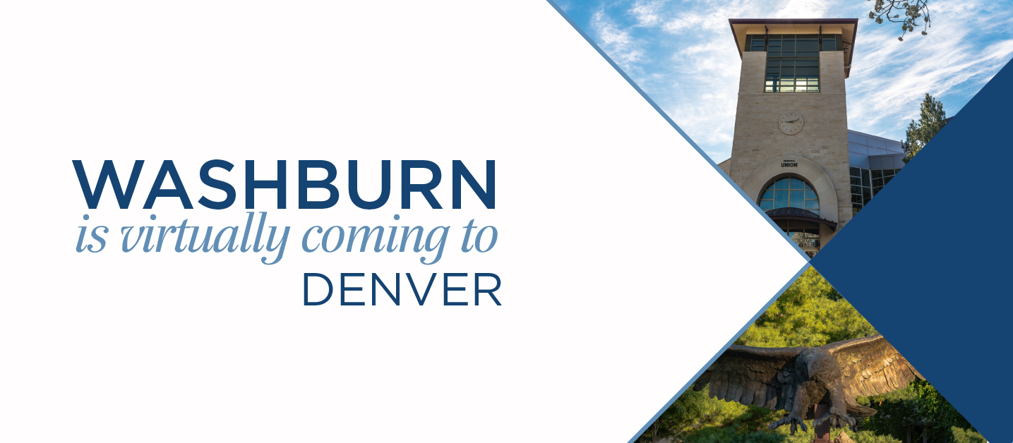 Washburn is virtually coming to Denver