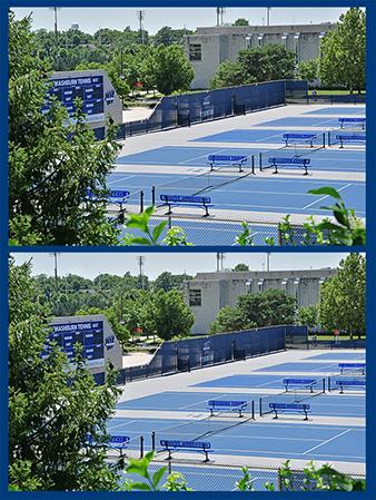 Washburn tennis courts
