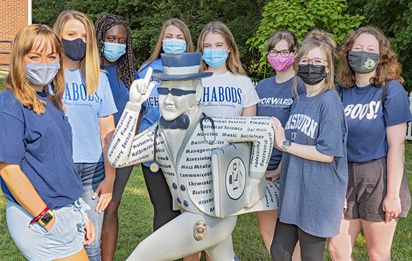 2021 Ichabods Moving Forward group photo