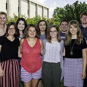 Students from Ichabods Moving Forward