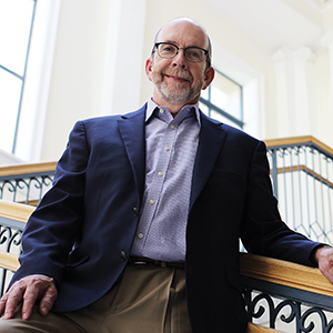 Nashville Public Library director Kent Oliver, ba '77
