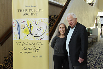 Rita and Irwin Blitt