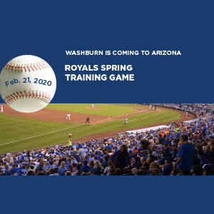 Washburn is coming to Arizona. Royals spring training game, Feb. 21, 2020