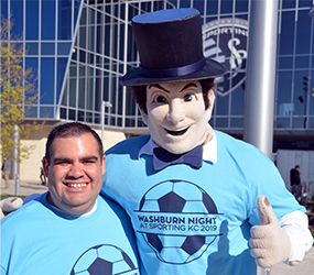 Washburn Night at Sporting KC