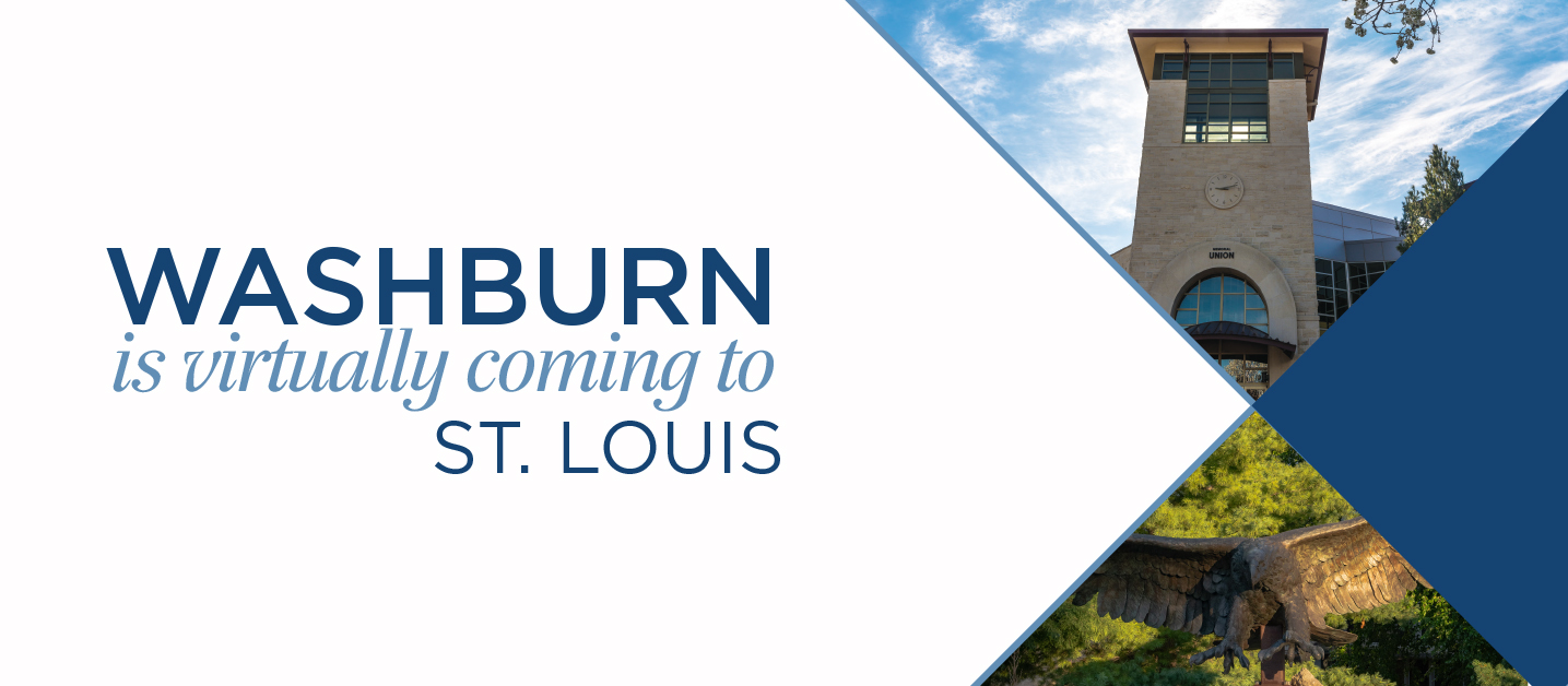 Washburn is virtually coming to St. Louis