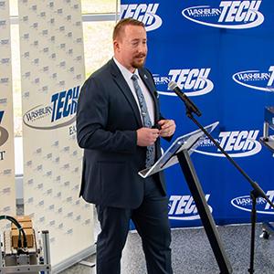 Chaz Havens at Tech announcement