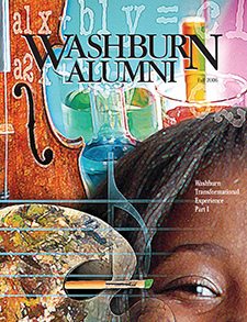 Alumni magazine cover