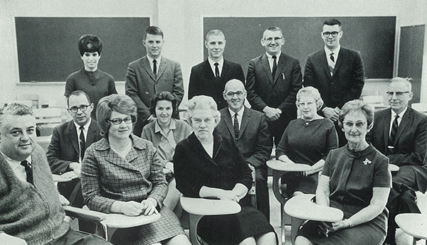 1960s math faculty