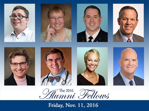 The 2016 Alumni Fellows