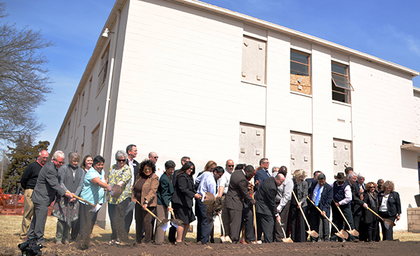 Groundbreaking for the Washburn Tech East campus